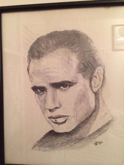 Marlon Brando by Nirefor
